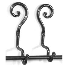 Black Iron Curtain Rod Antique Wrought Iron Adjustable Wrought Iron Curtain Rods Best
