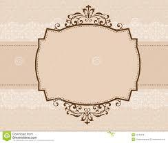 Engagement Invitation Cards Images Ornamental Invitation Background Stock Photo Image 24165230