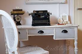Chalk Paint Desk by Desk Makeover Before And After Using Chalk Paint