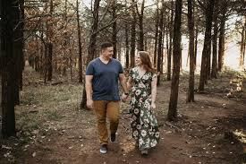 photographers in okc ericka stephen s engagement adventure session at the wichita
