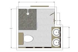 bathroom flooring 5 x 10 bathroom floor plans home design image