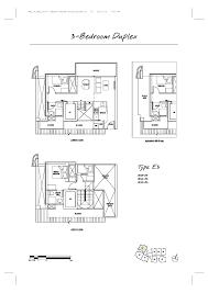 3 Bedroom Duplex Floor Plans by 3 Bedroom Duplex Spottiswoode Suites