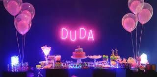 Neon Themed Decorations Convites Coloridos Neon Buscar Con Google Cumple 50