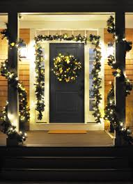 Home Decor Show Appealing Christmas Front Porch Door Decoration Show Endearing