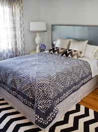 Homemade Duvet Cover Quick And Easy Bed Skirt Hgtv