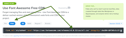get a load of all how to load and use font awesome 5 in sridhar katakam