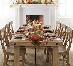 dining room table cloth benchwright extending dining table seadrift pottery barn