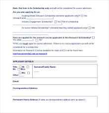 10 application templates u2013 free sample example format