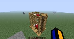 Minecraft How To Make A Bunk Bed Woodworking Make Bunk Bed Minecraft Pdf Homes Alternative 15074