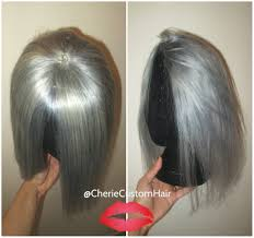 Human Hair Fringe Extensions by 100 Human Hair Closure Topper Bangs Fringe Silver Grey Gray