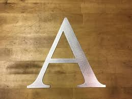 6 to 24 steel letters for home decor or projects