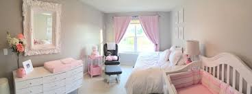 elegant pink u0026 grey nursery project nursery