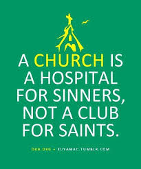 church hospital for sinners i jesus you re not