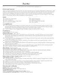 resources specialist resume healthcare administration samples hu