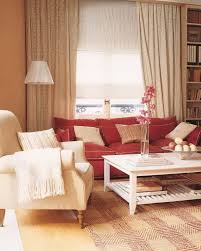 Red Sofa Furniture Elegant Interior And Furniture Layouts Pictures Red Sofa Living