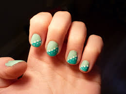 easy nail design for short nails trend manicure ideas 2017 in