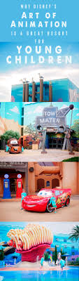 Why Disney s Art of Animation is a great resort for young children