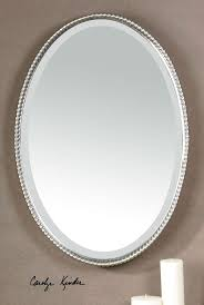 Oval Bathroom Mirror by Bathroom Oval Bathroom Mirrors 3 Cool Features 2017 Oval