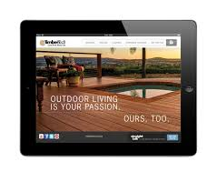 Home Design Outdoor App Timbertech Introduces Ipad App For Deck Design User Friendly