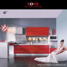 cuisine en forme de l de luxe haute brillant en forme de l contreplaqué d armoires