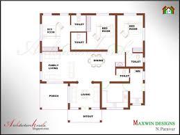 4 bedroom single house plans unique single floor 4 bedroom house plans kerala home plans design