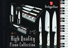 bh 2075 chef knife 15 cm stainless steel piano collection