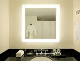 lighted mirrors for bathroom awesome bathroom stylish cool led lighted mirrors bathrooms 87 on