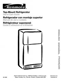 kenmore coldspot 10670167990 manual