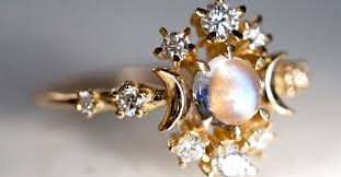 moonstone engagement rings 9 breathtaking moonstone engagement rings whowhatwear