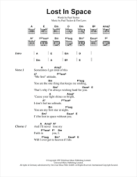 Star Light Star Bright Lyrics Lost In Space Sheet Music By The Lighthouse Family Lyrics