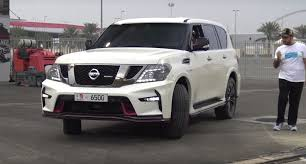 nissan spider 2017 nissan patrol nismo drag racing will leave you confused