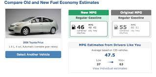 2007 toyota prius gas mileage i 2008 prius mpg results say 48 45 i 2007 prius