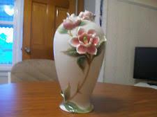 Franz Butterfly Vase Franz Porcelain Ebay
