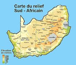 africa map elevation south africa roads map all maps of south africa