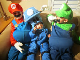 mario and luigi halloween costumes party city director jewels it s a nintendo super mario brothers halloween