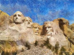 mount rushmore monument photo art photograph by thomas woolworth