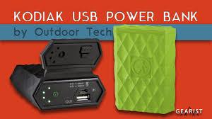 Outdoor Tech Outdoor Tech Kodiak 6000 Mah Youtube