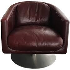 Leather Armchair Viyet Designer Furniture Seating Natuzzi Liu Leather Armchair