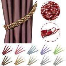 Rope Tiebacks For Curtains Rope Tie Backs Curtain Blind Accessories Ebay