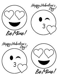 doodlecraft emoji valentine u0027s with free printable
