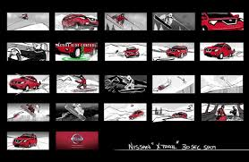 nissan commercial logo storyboarding techniques the gnomon workshop