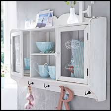 kitchen wall cabinet dresser vintage hanging storage cookware unit