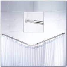 L Shaped Shower Curtain Rod Oil Rubbed Bronze L Shaped Shower Curtain Rod Ikea Curtain Home Design Ideas
