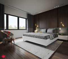 Bedroom Panelling Designs Interior Modern Bathroom Decoration With Brown Wood Panel Complete