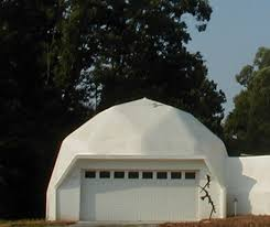 prefab home kit 27ft garage with studio apartment cement dome high wind warranty