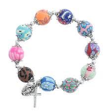 religious bracelets multi color rosary bracelet rosary bracelet bracelets and