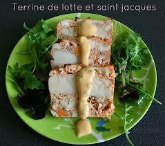 cuisiner la lotte marmiton terrine de lotte et jacques cooking