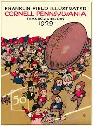 thanksgiving leftovers vintage college football programs