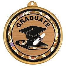 graduation medallion holographic graduation medallion paperdirect s