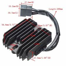 voltage regulator rectifier for suzuki gsxr600 750 1300 1400 dl650